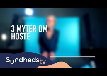 3 myter om hoste | SundhedsTV og Læger Formidler